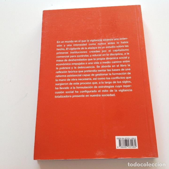 Libros de segunda mano: EL VIGILANTE DE LA ATALAYA. Pedro Fraile. Milenio. Espacios de control. Primeras cárceles.Prision. - Foto 2 - 193407255