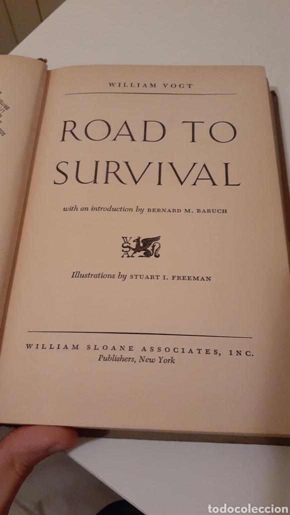 LIBRO ROAD TO SURVIVAL DE WILLIAM VOGT 1948 (Libros de Segunda Mano - Pensamiento - Sociología)