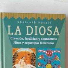 Libros de segunda mano: LA DIOSA. AUTORA: SHAHRUKH HUSAIN. Lote 194604730