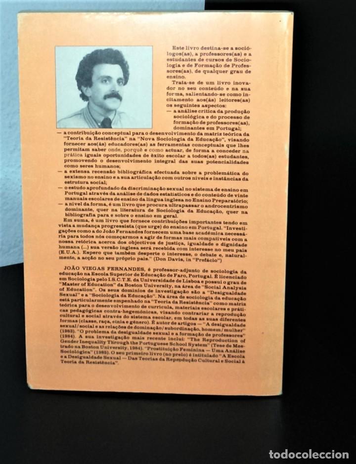 Libros de segunda mano: A Escola e a Desigualdade Sexual de João Viegas Fernandes - Foto 2 - 194895765