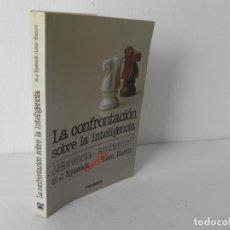 Libros de segunda mano: LA CONFRONTACIÓN SOBRE LA INTELIGENCIA (H.J. EYSENCK / LEON KAMIN) PIRÁMIDE-1989. Lote 195065102