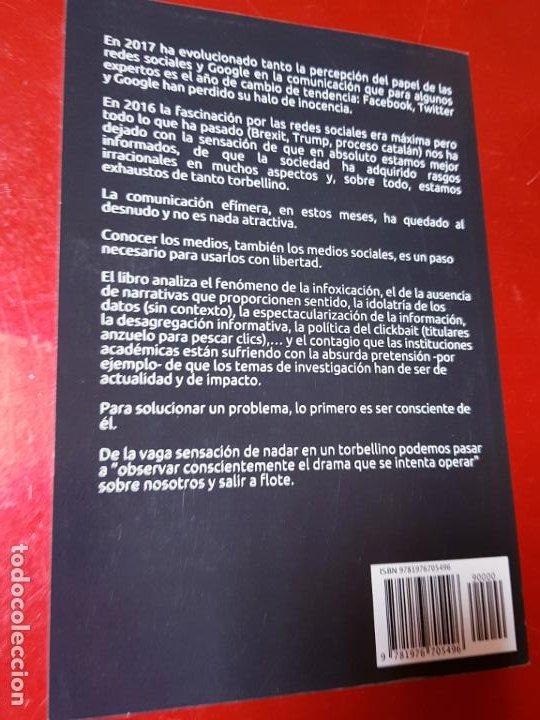 Libros de segunda mano: libro-COMUNICACIÓN EFÍMERA-DE LA CULTURA DE LA HUELLA A LA CULTURA DEL IMPACTO-MONTSE DOVAL-2017- - Foto 5 - 195152737