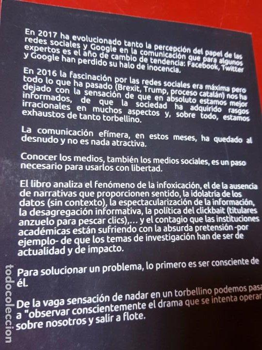 Libros de segunda mano: libro-COMUNICACIÓN EFÍMERA-DE LA CULTURA DE LA HUELLA A LA CULTURA DEL IMPACTO-MONTSE DOVAL-2017- - Foto 6 - 195152737