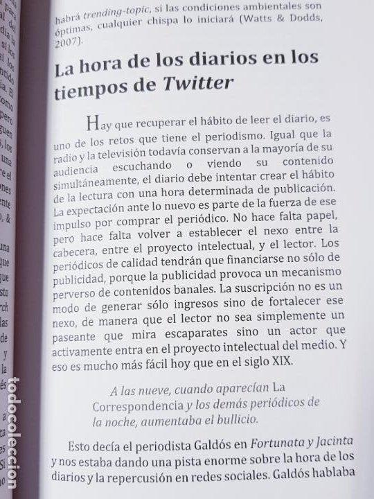 Libros de segunda mano: libro-COMUNICACIÓN EFÍMERA-DE LA CULTURA DE LA HUELLA A LA CULTURA DEL IMPACTO-MONTSE DOVAL-2017- - Foto 10 - 195152737