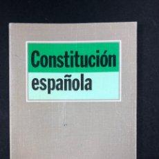 Libros de segunda mano: CONSTITUCION ESPAÑOLA TECNOS, 6ª EDICION 1993. Lote 196085556