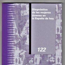 Libros de segunda mano: DIAGNÓSTICO DE LAS MUJERES JÓVENES EN LA ESPAÑA DE HOY MADRID 2019. Lote 196213345