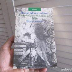 Libros de segunda mano: LA GENERACIÓN ESPAÑOLA DE 1808-MANUEL MORENO ALONSO-ALIANZA EDITORIAL, 1989. Lote 197104935