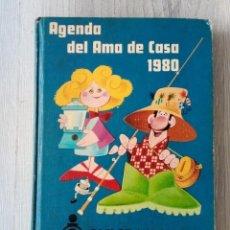 Libros de segunda mano: AGENDA DEL AMA DE LA CASA 1980 / CAJA DE AHORROS DE GALICIA. Lote 197654481