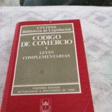 Libros de segunda mano: CÓDIGO DE COMERCIO Y LEYES COMPLEMENTARIAS 1996. Lote 197984972