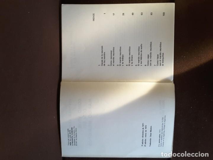 Libros de segunda mano: COMO VIVIR CON UN MARIDO NEURÓTICO STEPHEN BAKER GRANICA EDITOR COLECCIÓN LA PATA DE LA SOTA - Foto 4 - 198345486