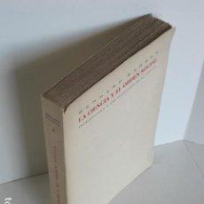 Libros de segunda mano: BERNARD BARBER. LA CIENCIA Y EL ORDEN SOCIAL. INTRODUCCIÓN A UNA SOCIOLOGÍA DE LA CIENCIA. ED. ARIEL. Lote 199151438