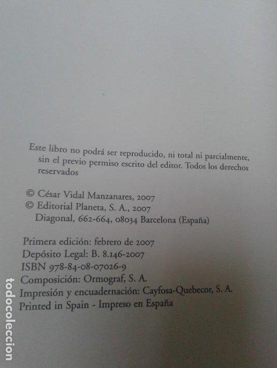 Libros de segunda mano: JESÚS Y JUDAS: UN DRAMA DEL SIGLO I - VIDAL, CÉSAR - Foto 2 - 155773037