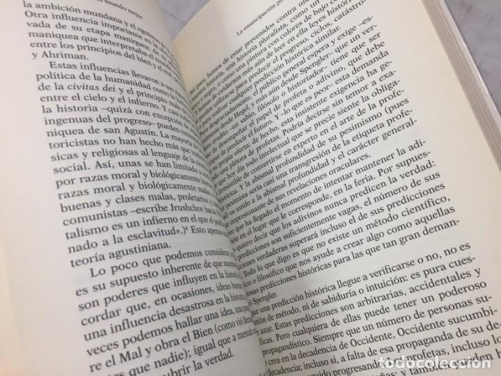 Libros de segunda mano: EN BUSCA DE UN MUNDO MEJOR, KARL POPPER, Paidós Estado y Sociedad. 1994 - Foto 5 - 200241727