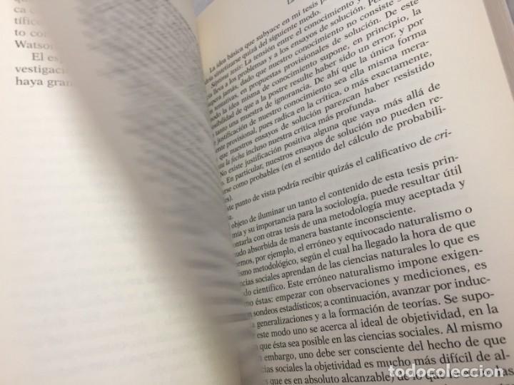 Libros de segunda mano: EN BUSCA DE UN MUNDO MEJOR, KARL POPPER, Paidós Estado y Sociedad. 1994 - Foto 9 - 200241727