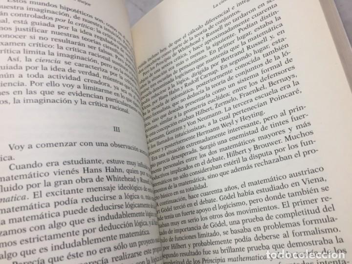 Libros de segunda mano: EN BUSCA DE UN MUNDO MEJOR, KARL POPPER, Paidós Estado y Sociedad. 1994 - Foto 10 - 200241727