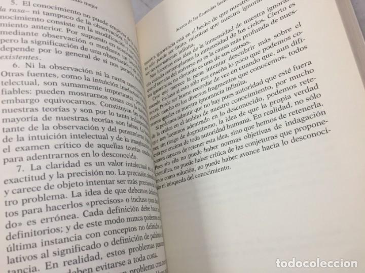 Libros de segunda mano: EN BUSCA DE UN MUNDO MEJOR, KARL POPPER, Paidós Estado y Sociedad. 1994 - Foto 11 - 200241727