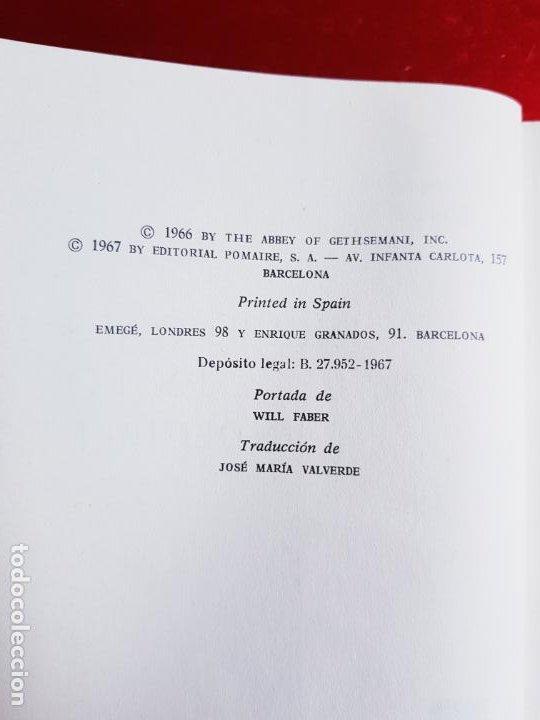 Libros de segunda mano: LIBRO-INCURSIONES EN LO INDECIBLE-THOMAS MERTON-1967-SOBRECUBIERTA-VER FOTOS - Foto 10 - 203091433