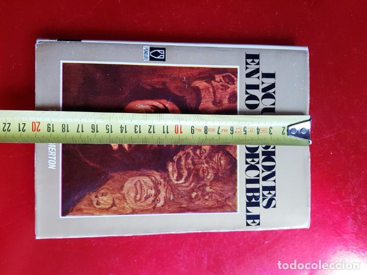 Libros de segunda mano: LIBRO-INCURSIONES EN LO INDECIBLE-THOMAS MERTON-1967-SOBRECUBIERTA-VER FOTOS - Foto 15 - 203091433