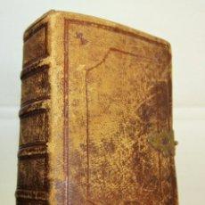 Libros de segunda mano: DIAMANTE DEL CRISTIANO-IMPR LLORENS, BARCELONA-1845- TAPAS DE PIEL Y CIERRE METÁLICO.. Lote 204166262