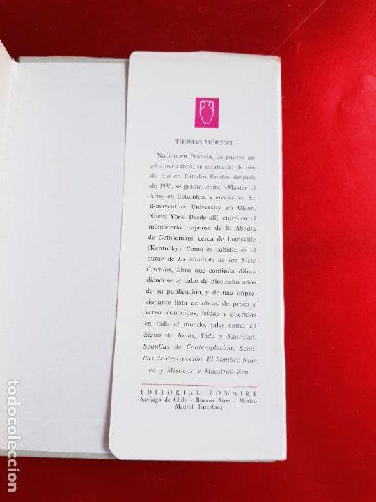 Libros de segunda mano: LIBRO-INCURSIONES EN LO INDECIBLE-THOMAS MERTON-1967-SOBRECUBIERTA-VER FOTOS - Foto 8 - 203091433