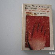 Libros de segunda mano: INTRODUCCIÓN A LOS MÉTODOS DE LA SOCIOLOGÍA EMPÍRICA. Lote 204781057