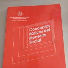 Libros de segunda mano: CONCEPTOS BÁSICOS DEL BIENESTAR SOCIAL 1987. Lote 205694795