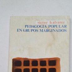 Libros de segunda mano: PEDAGOGÍA POPULAR EN GRUPOS MARGINADOS. ÁLVAREZ ROJO VÍCTOR B. LEE Y DISCUTE Nº 105. ZERO TDK193. Lote 206764062