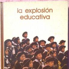 Libros de segunda mano: LA EXPLOSIÓN EDUCATIVA – JOSÉ PALLACH (SALVAT, 1975) /// EDUCACIÓN PEDAGOGÍA ESCUELA MAESTRO ALUMNO. Lote 206800657