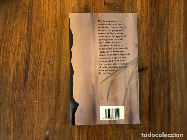 Libros de segunda mano: La invención del poder. Federico Campbell. Nuevo Siglo Aguilar. - Foto 2 - 207035646