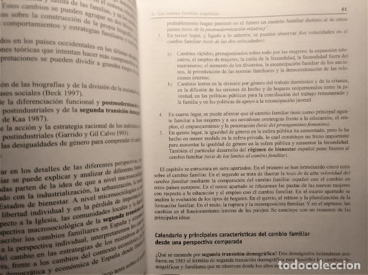 Libros de segunda mano: Tres décadas de cambio social en España, González/Requena (eds.), 2008 - Foto 7 - 207038962