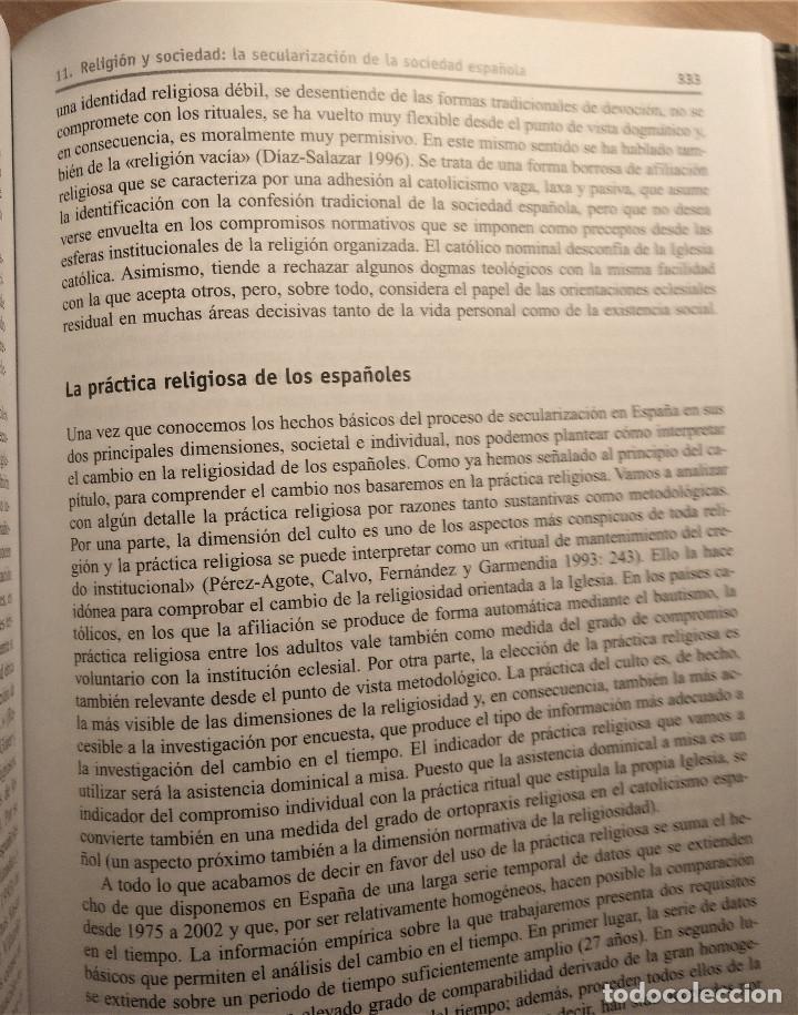 Libros de segunda mano: Tres décadas de cambio social en España, González/Requena (eds.), 2008 - Foto 8 - 207038962