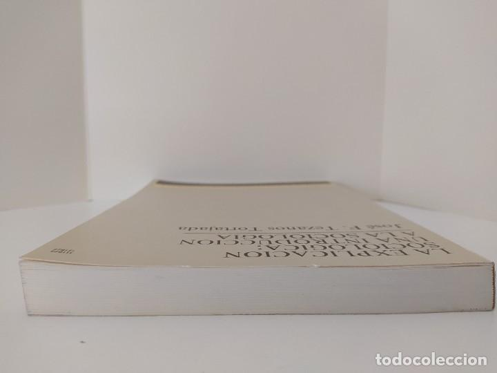 Libros de segunda mano: LA EXPLICACIÓN SOCIOLÓGICA: UNA INTRODUCCIÓN A LA SOCIOLOGÍA. JOSÉ F. TEZAMOS TORTAJADA. 1987. - Foto 5 - 207051368