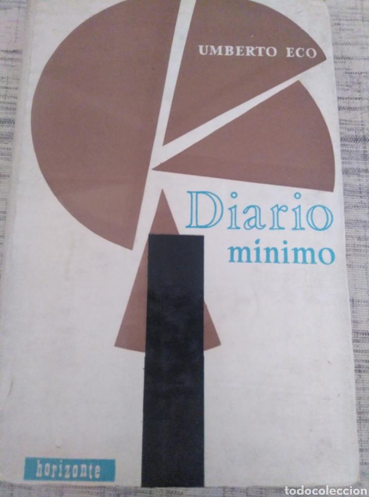 HUMBERTO ECO. DIARIO MÍNIMO. ED. HORIZONTE. 1964. 231 PÀGS. (Libros de Segunda Mano - Pensamiento - Sociología)
