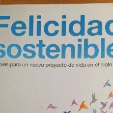 Libros de segunda mano: FELICIDAD SOSTENIBLE - ZUAZUA, ALBERTO PAIDOS 2012 316PP. Lote 207356923