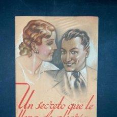 Libros de segunda mano: UN SECRETO QUE LLENA DE ALEGRIA. LA LECHERA - NESTLE. SANTANDER, 1935. PAGS: 30. Lote 207595885