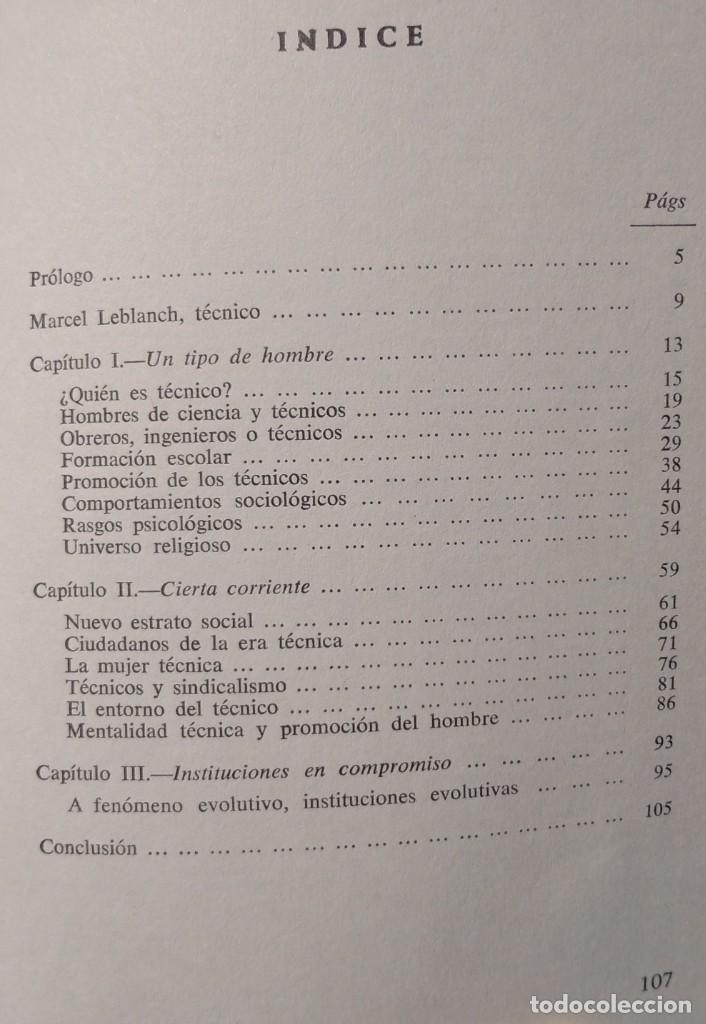 Libros de segunda mano: Los Técnicos: La Nueva Clase Media – Philippe Larere (Zero, 1971) /// TRABAJO LABORAL PROFESIONES - Foto 3 - 208812141