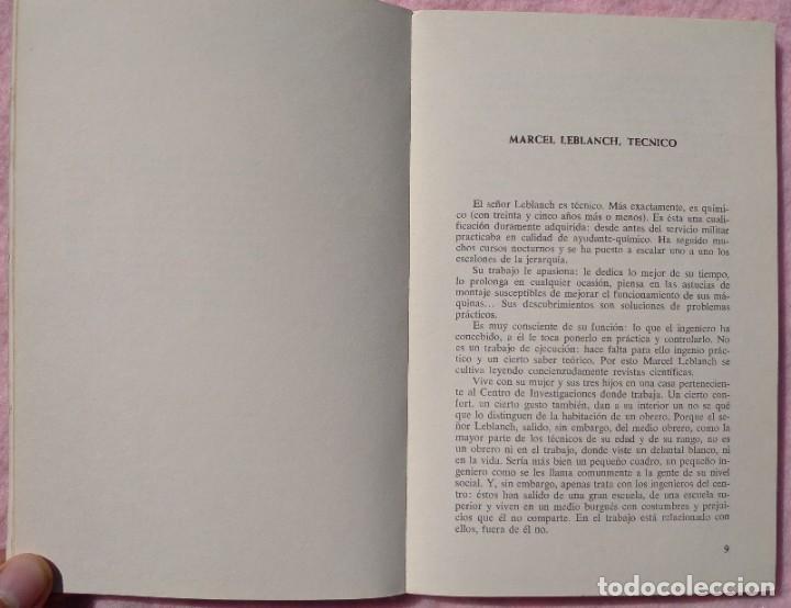 Libros de segunda mano: Los Técnicos: La Nueva Clase Media – Philippe Larere (Zero, 1971) /// TRABAJO LABORAL PROFESIONES - Foto 5 - 208812141