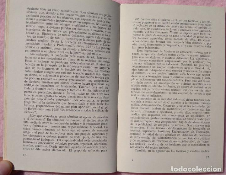 Libros de segunda mano: Los Técnicos: La Nueva Clase Media – Philippe Larere (Zero, 1971) /// TRABAJO LABORAL PROFESIONES - Foto 8 - 208812141