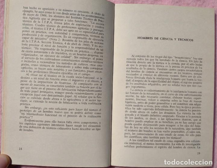 Libros de segunda mano: Los Técnicos: La Nueva Clase Media – Philippe Larere (Zero, 1971) /// TRABAJO LABORAL PROFESIONES - Foto 9 - 208812141