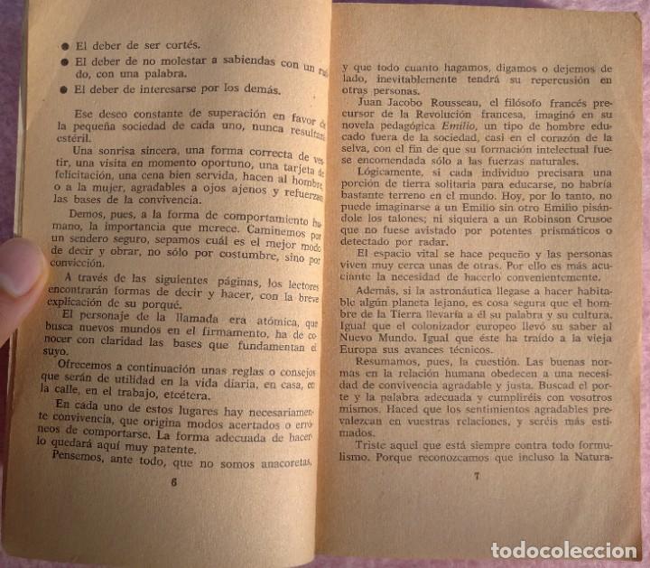 Libros de segunda mano: Normas Sociales – Sara Masó (Bruguera, 1970) /// EDUCACIÓN BUENAS MANERAS HOGAR AMA DE CASA DECORO - Foto 7 - 208813435