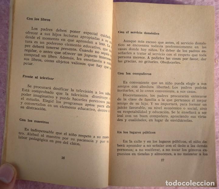 Libros de segunda mano: Normas Sociales – Sara Masó (Bruguera, 1970) /// EDUCACIÓN BUENAS MANERAS HOGAR AMA DE CASA DECORO - Foto 10 - 208813435