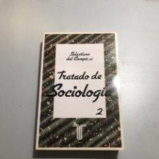 Libros de segunda mano: TRATADO DE SOCIOLOGÍA. Lote 209346057