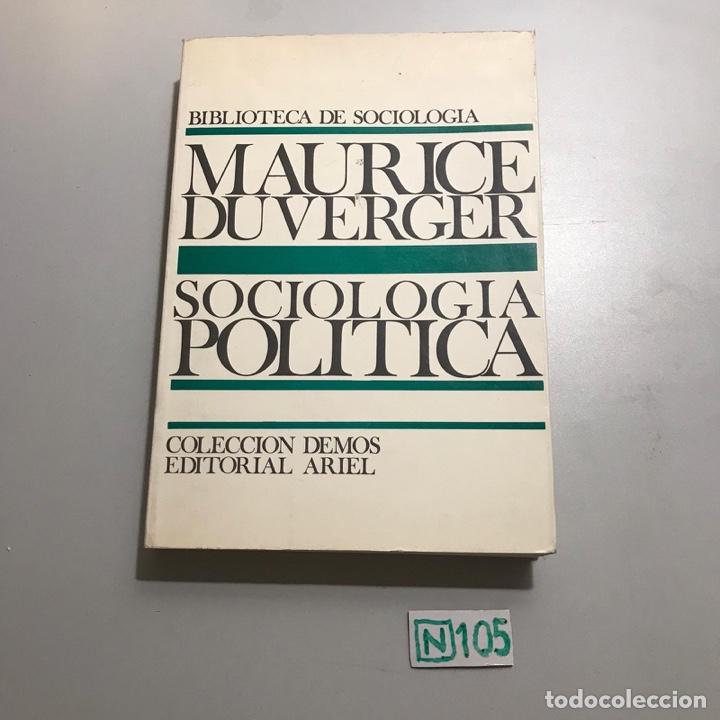 SOCIOLOGÍA POLÍTICA (Libros de Segunda Mano - Pensamiento - Sociología)