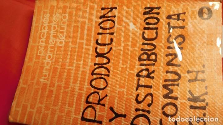 PRODUCCIÓN Y DISTRIBUCIÓN COMUNISTA (Libros de Segunda Mano - Pensamiento - Sociología)