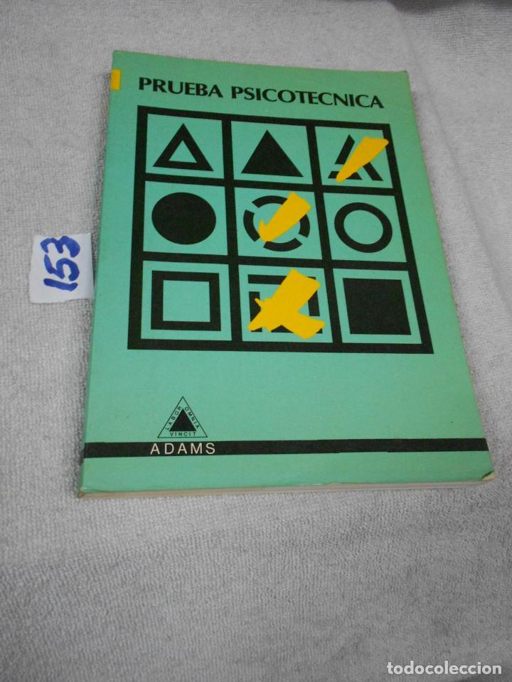 PRUEBA PSICOTECNICA (Libros de Segunda Mano - Pensamiento - Sociología)