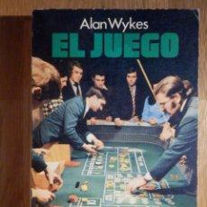 Libros de segunda mano: ALAN WYKES - EL JUEGO - LUIS DE CARALT 1976. Lote 210969669