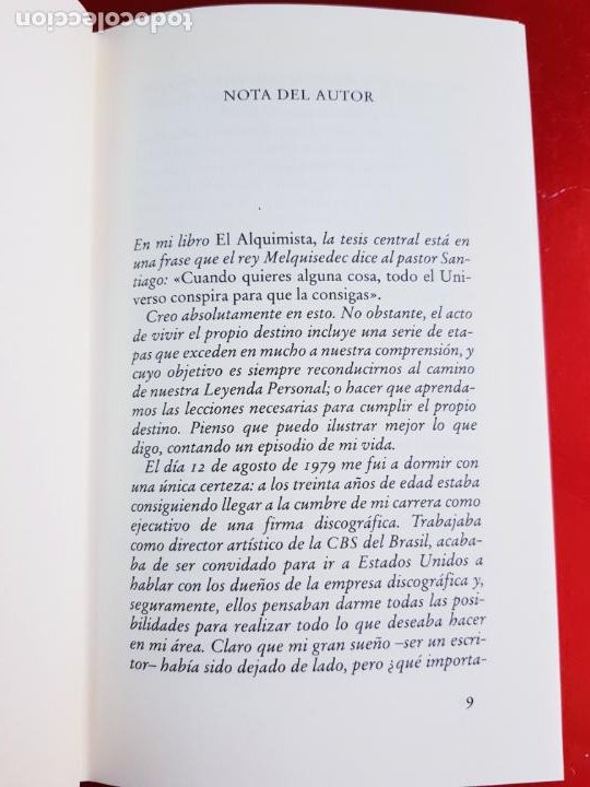 Libros de segunda mano: LIBRO-PAULO COELHO-LA QUINTA MONTAÑA-CÍRCULO DE LECTORES-1998-BARCELONA-PERFECTO ESTADO - Foto 8 - 211826933