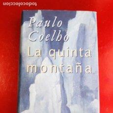 Libros de segunda mano: LIBRO-PAULO COELHO-LA QUINTA MONTAÑA-CÍRCULO DE LECTORES-1998-BARCELONA-PERFECTO ESTADO. Lote 211826933