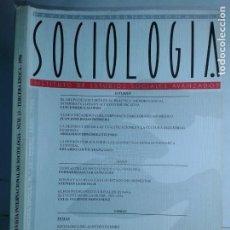 Libros de segunda mano: REVISTA INTERNACIONAL DE SOCIOLOGÍA Nº 13 ENERO / ABRIL 1996 IESA EDITA CSIC. Lote 214287177