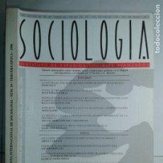 Libros de segunda mano: REVISTA INTERNACIONAL DE SOCIOLOGÍA Nº 14 MAYO / AGOSTO 1996 IESA EDITA CSIC. Lote 214287287